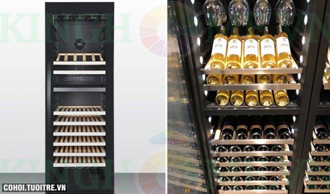 Tủ rượu Malloca MWC-180BG chính hãng