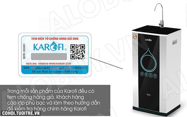 Máy lọc nước RO KAROFI iRO 2.0 K9IQ-2 (Đèn UV diệt khuẩn)
