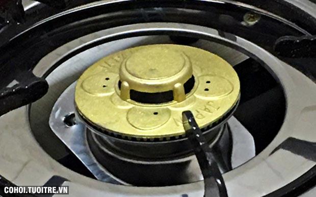 Bếp gas đơn chén nhôm Fujishi FR-268N