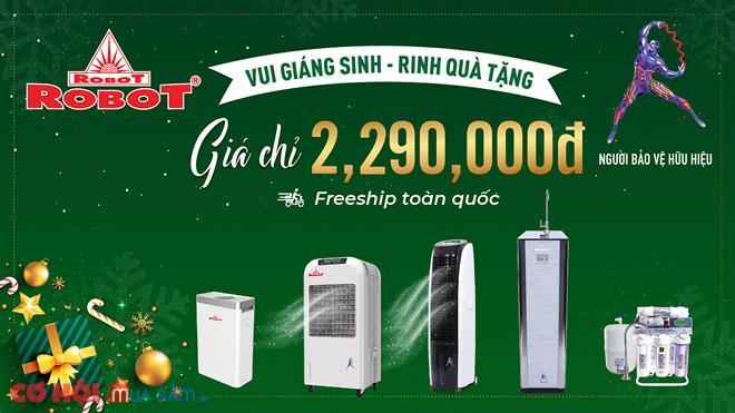 Vui Giáng sinh, rinh quà tặng, ưu đãi 30% máy lọc nước, máy làm mát