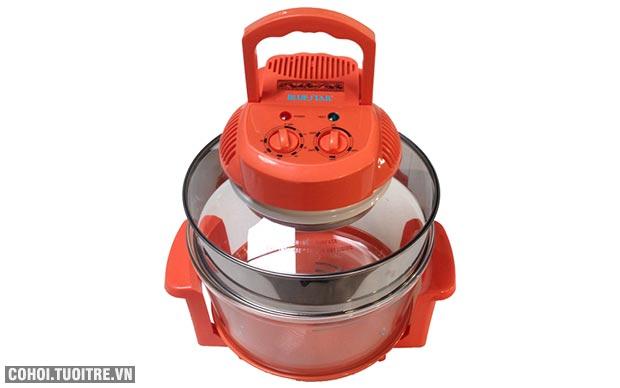 Lò nướng thủy tinh Bluestar BS-12LO, dung tích 12 lít