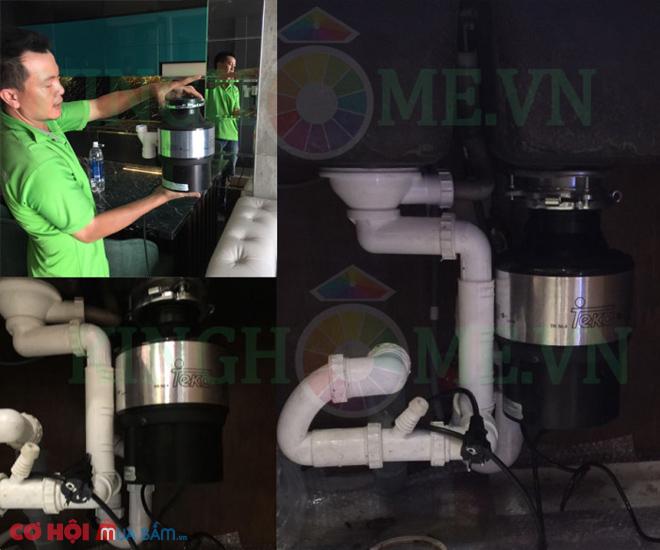 Máy hủy rác Carysil Việt Nam 1/2HP