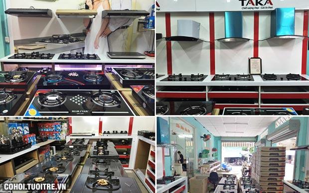 Giá bếp gas Rinnai, bếp từ đôi hồng ngoại thanh lý