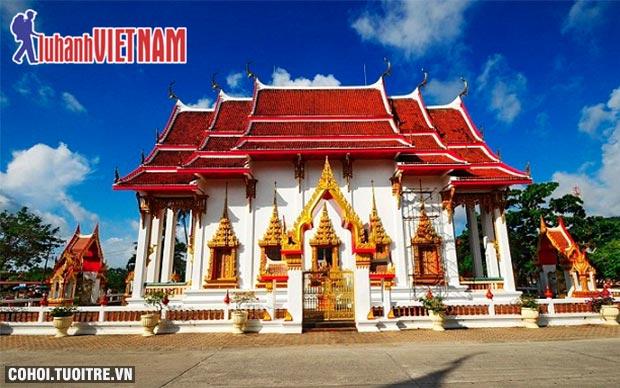 Tour bay thẳng đến thiên đường Phuket từ 6,999 triệu đồng
