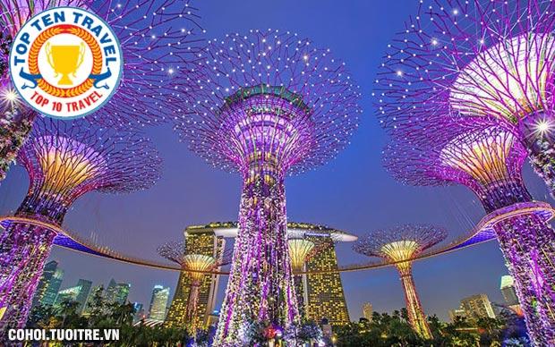 Tour liên tuyến 3 nước Singapore - Indonesia - Malaysia