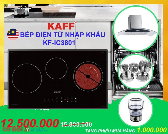 Bếp điện từ Kaff KF-LCD2IG