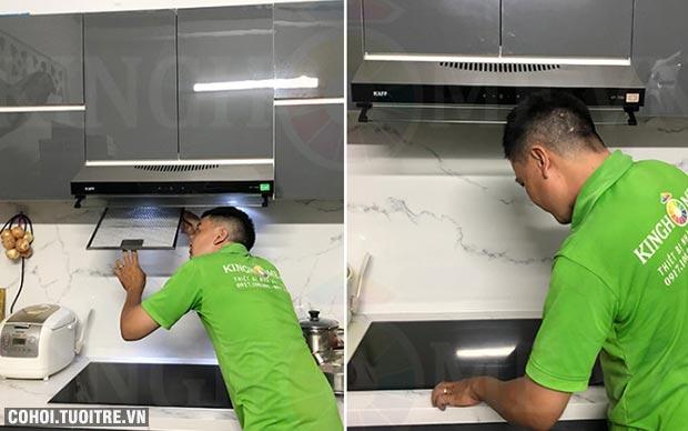 Đổi bếp cũ lấy bếp điện từ mới