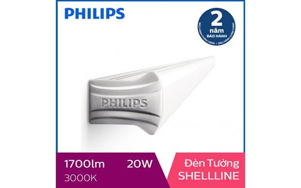 Đèn 1,2m Philips LED Shellline 31172 20W 3000K, ánh sáng vàng
