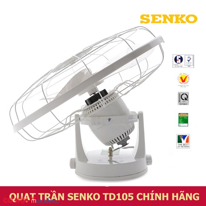 Quạt đảo trần Senko TD105