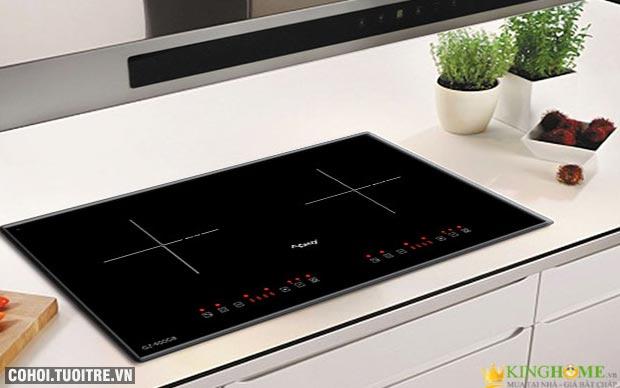 Bếp điện từ đôi Canzy CZ-900GB