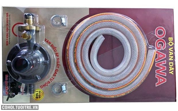 Bộ dây van gas điều áp an toàn Ogawa NA 375S