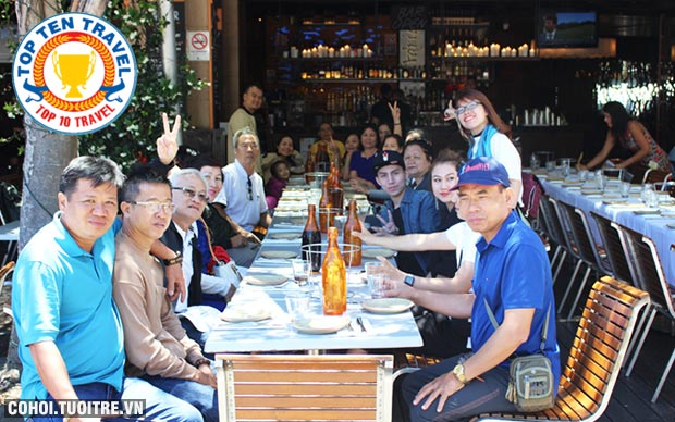 Tour Úc với lễ hội hoa Floriade, giá 28,9 triệu