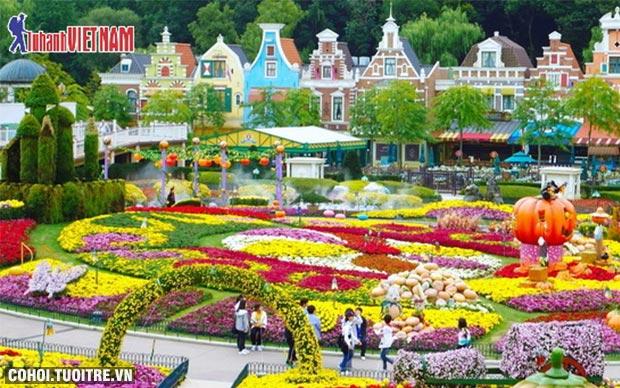 Tour Hàn Quốc mùa lá đỏ bay 5 sao
