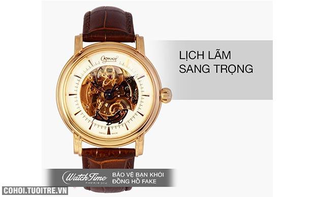 5 mẫu đồng hồ Ogival chính hãng được ưa chuộng
