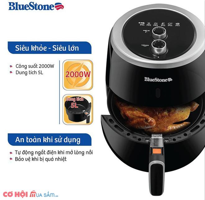Nồi chiên không dầu 5 lít BlueStone AFB-5870