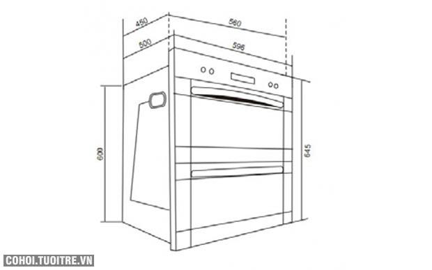 Máy sấy chén bát dĩa tự động Canzy CZ606
