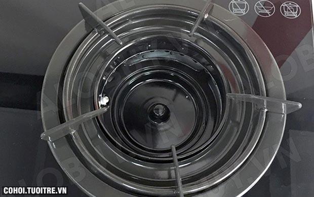 Bếp gas âm Rinnai RVB-2Gi-B, cảm ứng ngắt gas