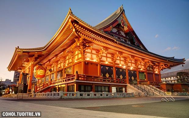 Tour Nhật Bản siêu tiết kiệm hè 2017 chỉ 21,9 triệu