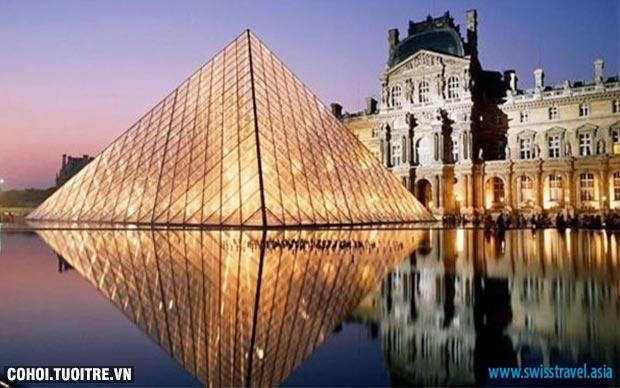 Du lịch Pháp - Thụy Sĩ - Ý