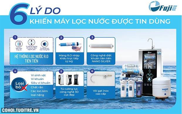 Máy lọc nước RO FujiE Nhật Bản khuyến mãi lần 2