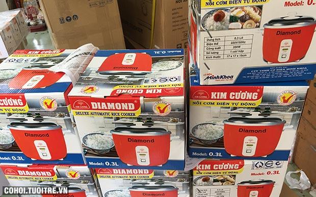 Nồi cơm điện Kim Cương 0.3L giá rẻ