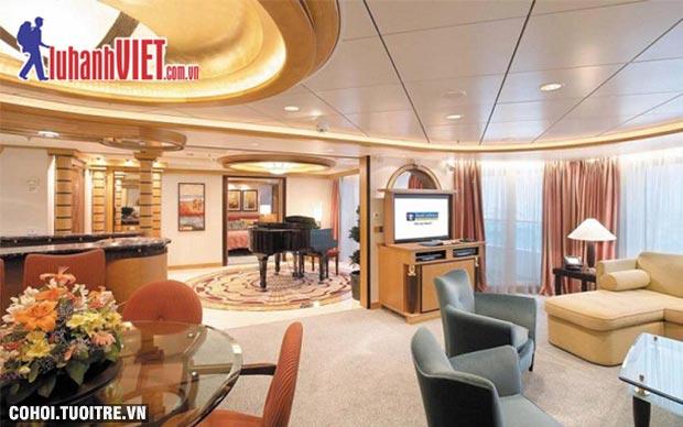 Tour du thuyền 5 sao Singapore - Penang - Phuket