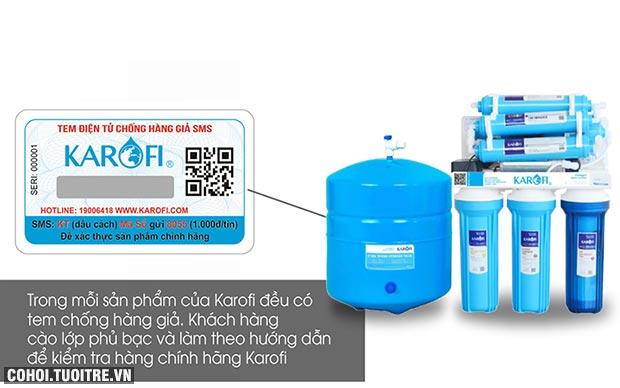 Máy lọc nước RO để gầm, không tủ KAROFI KT-ERO80