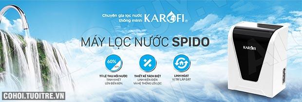 Máy lọc nước RO để bàn, gầm tủ KAROFI SPIDO S-s027