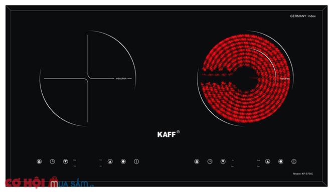 Xả kho bếp điện từ hồng ngoại đôi Kaff KF-073IC