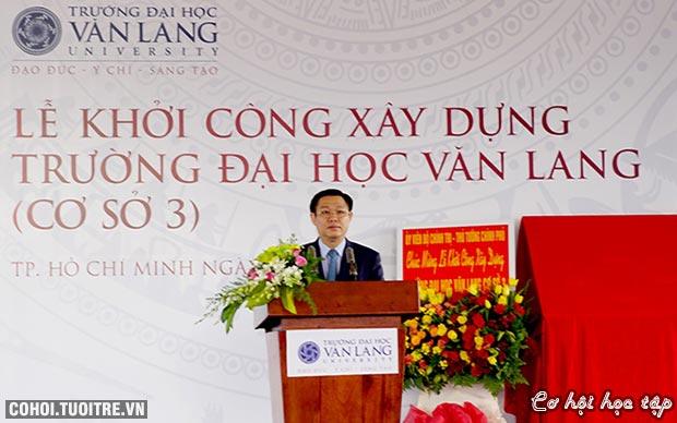 Năm 2017, sinh viên Văn Lang nhập học tại cơ sở mới