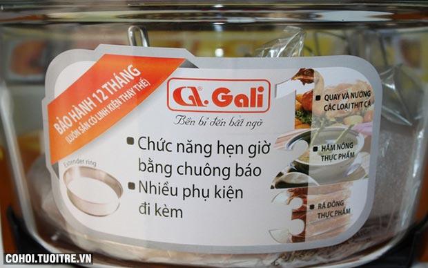 Lò nướng thủy tinh Gali GL 1101