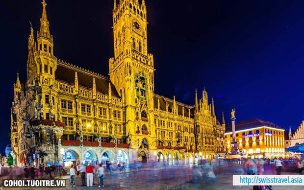 Tour khám phá Thụy Sĩ, Đức, Áo, Hungary, Slovakia, Séc