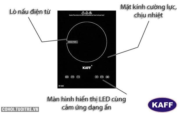 Bếp đơn âm điện từ Domino Kaff KF-330I