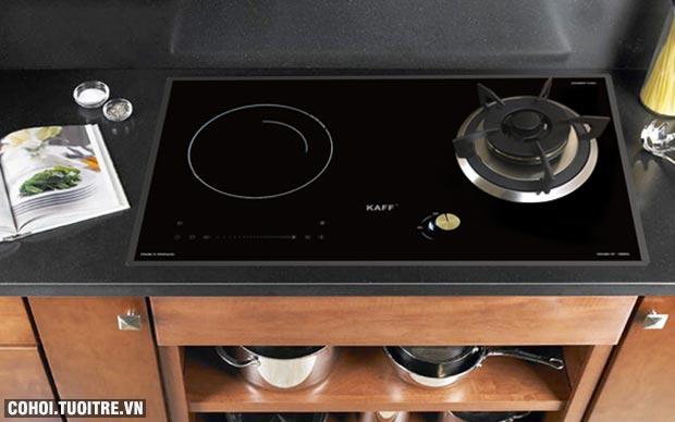 Bếp hỗn hợp Gas Từ KAFF KF-088IG