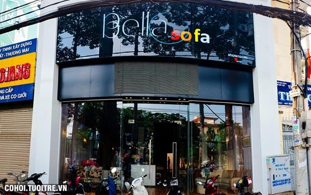 Săn đồ nội thất giữa lòng Sài Gòn cùng BellaSofa