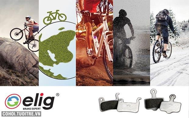 Ra mắt bố thắng xe đạp Elig tại Việt Nam