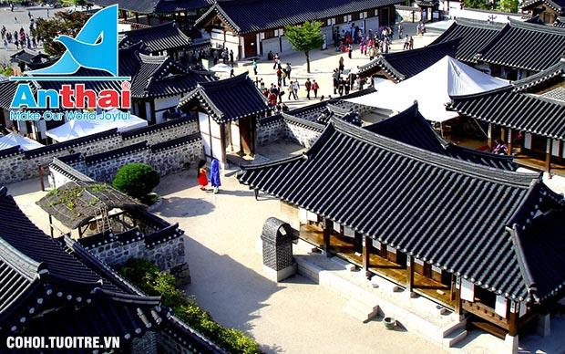 Du Xuân Hàn Quốc dịp Tết Đinh Dậu