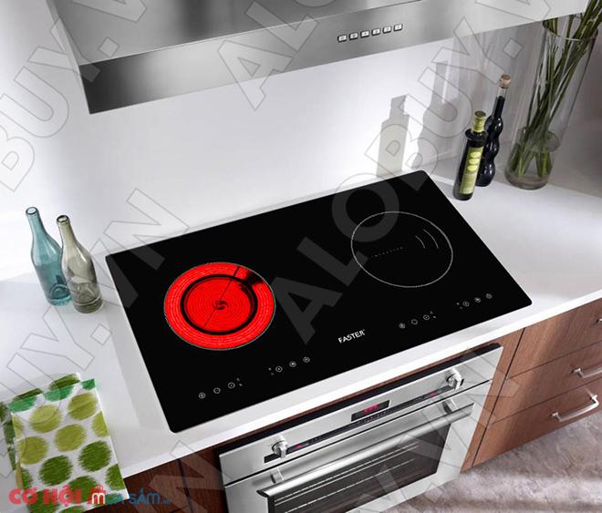 Xả kho bếp từ đôi hồng ngoại FASTER FS-288HI