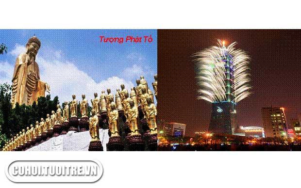 TP.HCM - Cao Hùng - Đài Trung - Đài Bắc - TP HCM