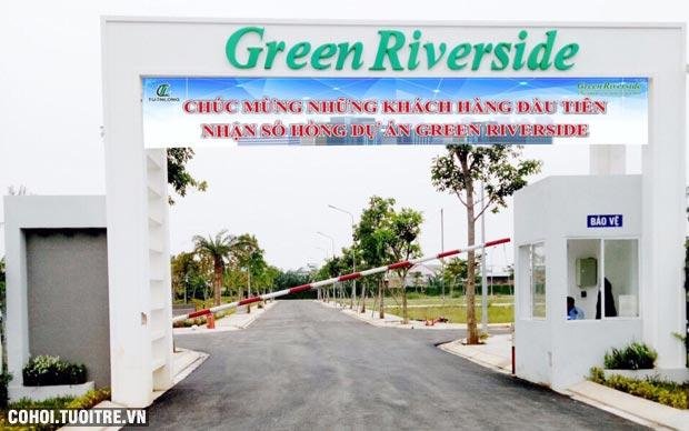 Cần sang đất thuộc dự án Green Riverside huyện Nhà Bè