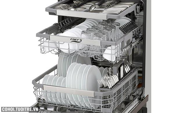 Máy rửa chén bát cảm ứng CHEFS EH-DW401S