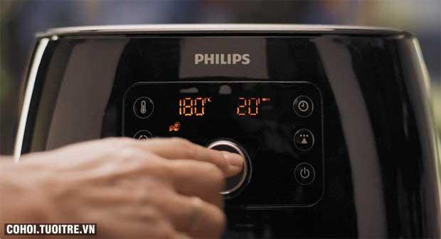 Nồi chiên không dầu Philips Airfryer XXL HD9652/90