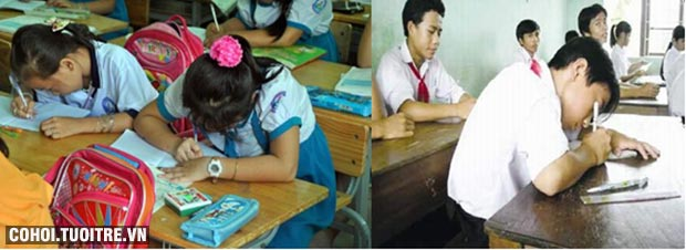Bàn ghế học sinh khuyến mãi mừng năm học mới