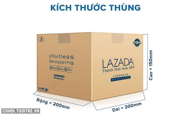Thùng carton gói hàng kích thước 200 x 200 x 150mm