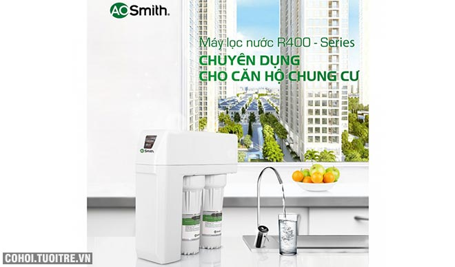 Máy lọc nước A. O. Smith R400E
