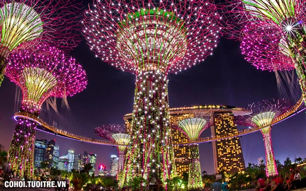Tour Malaysia - Singapore 6N5Đ giá rẻ