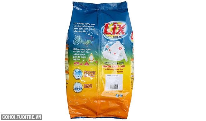 Bột giặt Lix đậm đặc hương hoa 5.5Kg khuyến mãi 115 ngàn