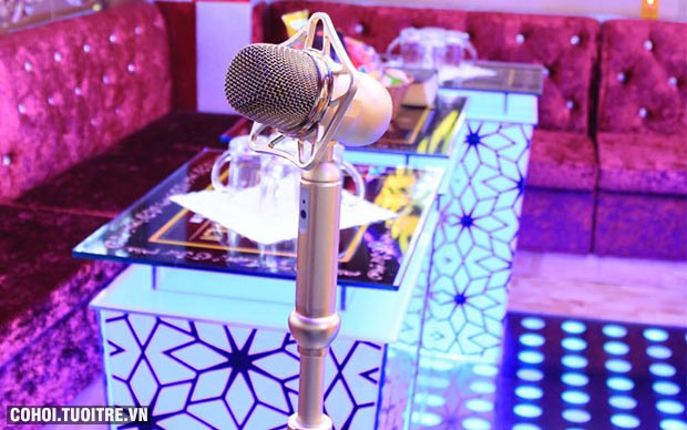 Karaoke cực sang, dáng sáng, giá cực choáng