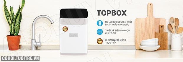 Máy lọc nước RO để bàn, gầm tủ KAROFI TOPBOX T-s146
