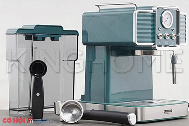 Tìm hiểu máy pha cà phê gia đình Zamboo ZB-90PRO